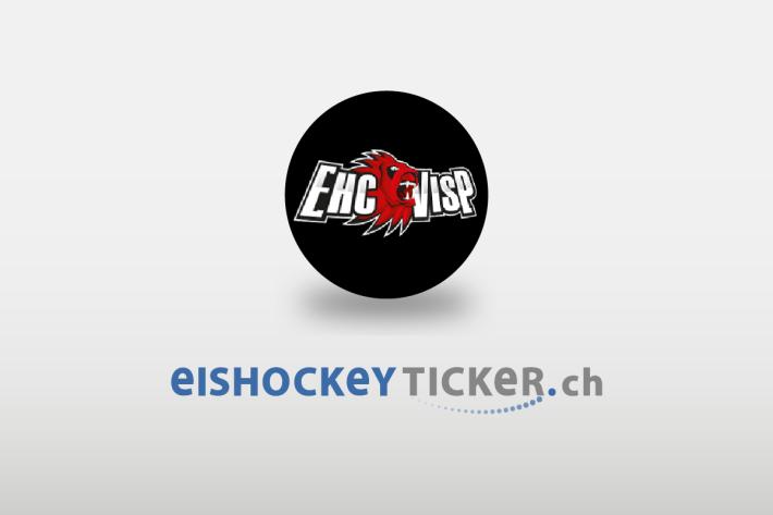 Pascal Blaser vom EHC Visp wird wegen eines Stockschlags gegen Cedric Hüsler für sechs Spiele gesperrt (Symbolbild)