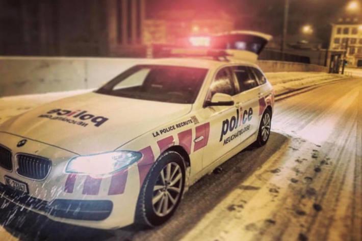 In Neuenburg wurde eine illegale Party mit ca. 100 Personen aufgelöst