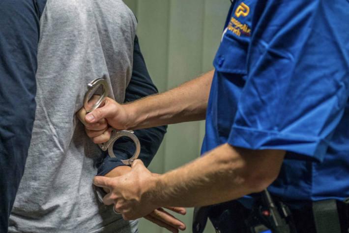 Symbolbild Verhaftung