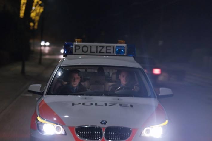 In Zuchwil SO war gestern die Polizei wegen einem grossen Fahrzeug-Konvoi im Einsatz.