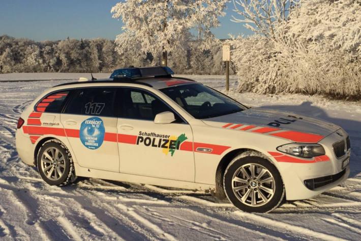 Gemäss ersten Ermittlungen wurde in Schaffhausen bei dieser Brandstiftung keine Personen verletzt (Symbolild)
