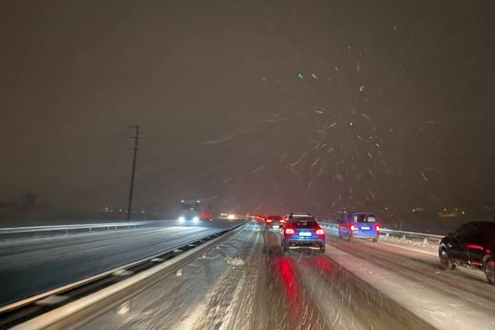 Ab heute Abend kann es auf der Nord-Süd Achse Schnee geben. (Symbolbild)