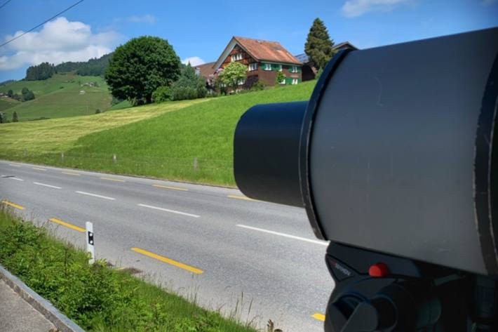 Radarmessungen im Kanton Tessin in der Woche 35. (Symbolbild)