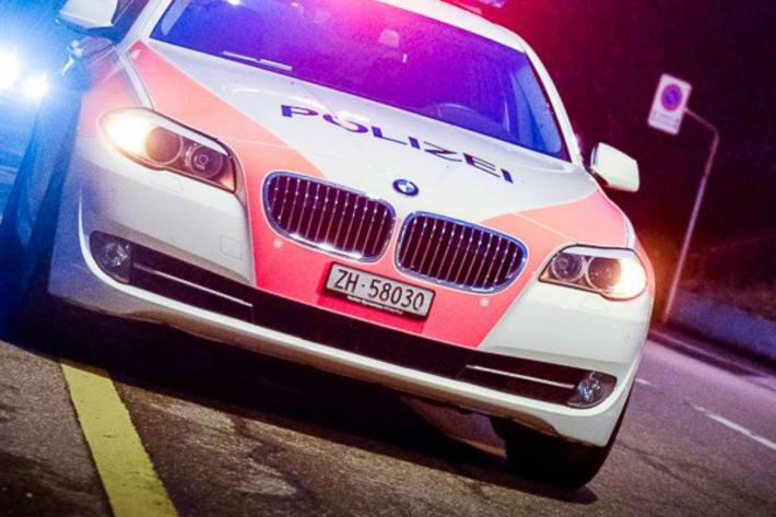 Die Polizei musste in Winterthur ZH einen jungen Mann verhaften.