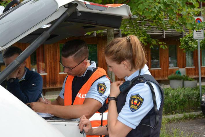 Ergebnisse der Verkehrskontrollen im November im Fürstentum Liechtenstein