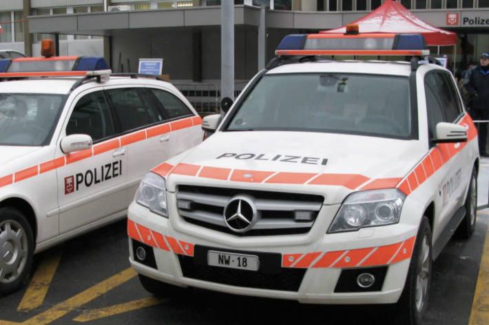 In Hergiswil NW kam es gestern zu einer Frontalkollision.