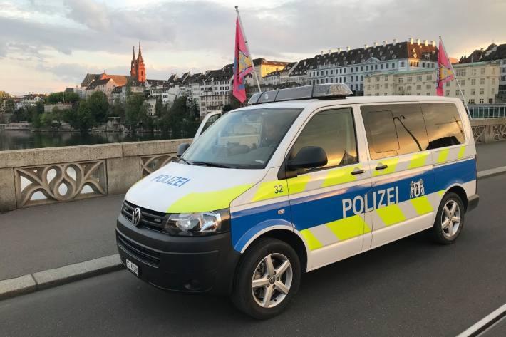 Weniger Unfälle auf den Strassen vom Kanton Basel-Stadt.