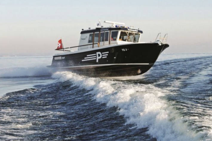 Durch den Seerettungsdienst wurde das Motorboot zum Hafen Goldach geschleppt (Symbolbild)
