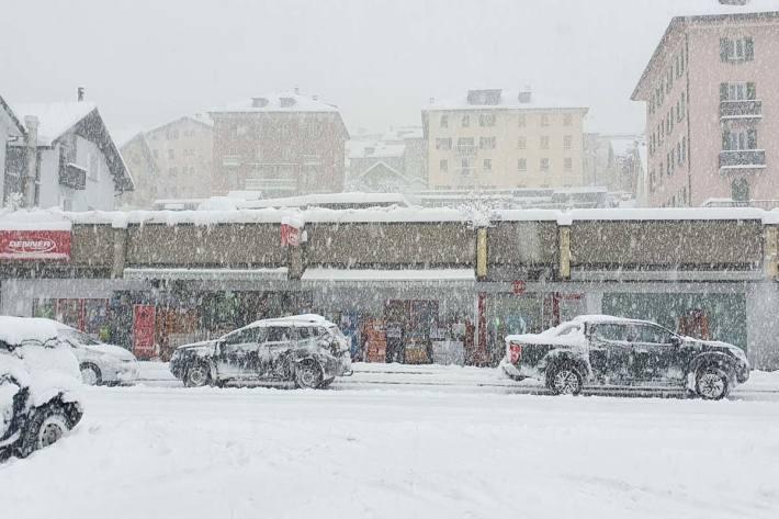 Viel Neuschnee wird in den nächsten Tagen erwartet. (Symbolbild)