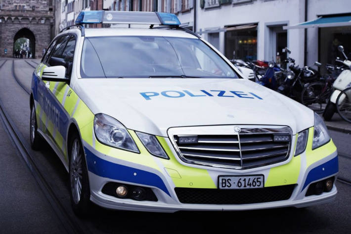 Verkehrskontrollen in Basel-Stadt.