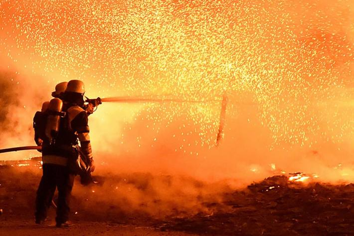Heute kam es in Basel in einem Einfamilienhaus zu einem Brandfall (Symbolbild)