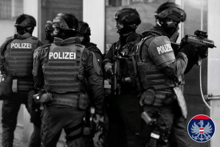 Polizeieinsatz in Wien (Symbolbild)