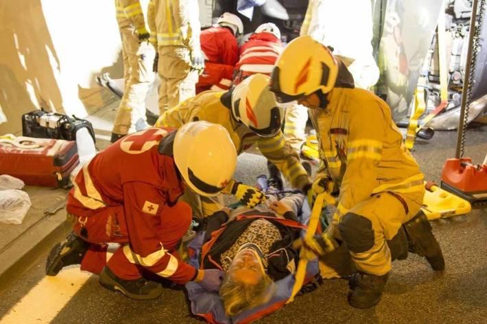 Das 8-jährige Mädchen erlitt in Graz eine schwere Verletzung am linken Bein (Symbolbild)