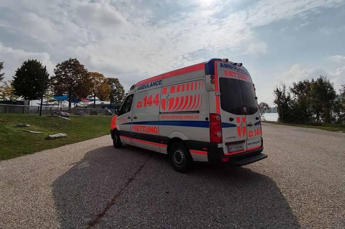 42-jährige Radfahrerin im Krankenhaus in Wien (Symbolbild)