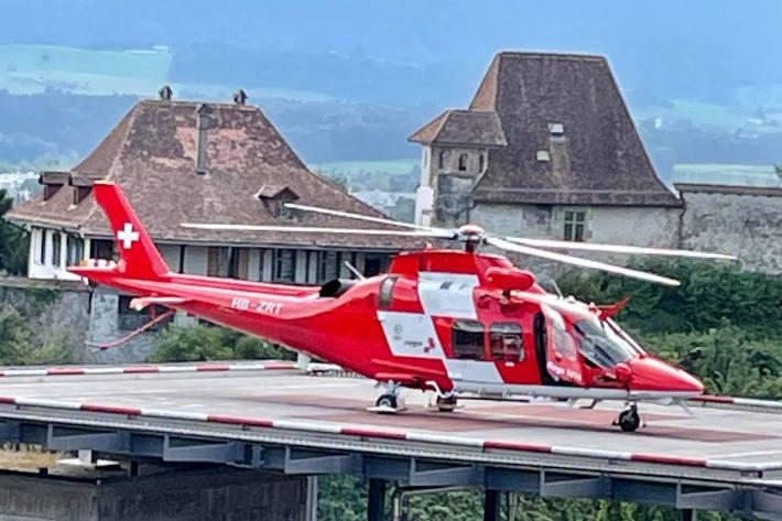 Rettungshelikopter – Symbolbild