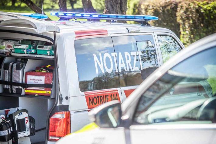 Drei Personen wurden in das Salzkammergut-Klinikum Bad Ischl eingeliefert (Symbolbild)