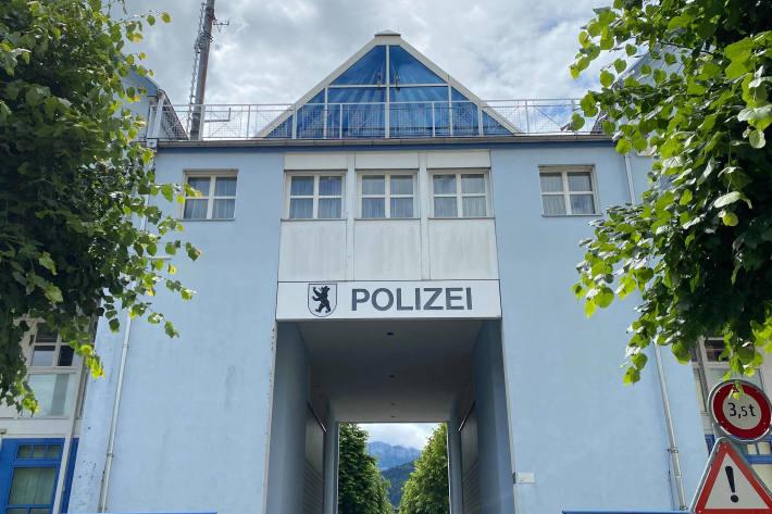 In Appenzell waren Sprayer am Werk.