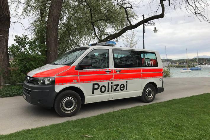 Rollerfahrer in Zürich festgenommen. (Symbolbild)