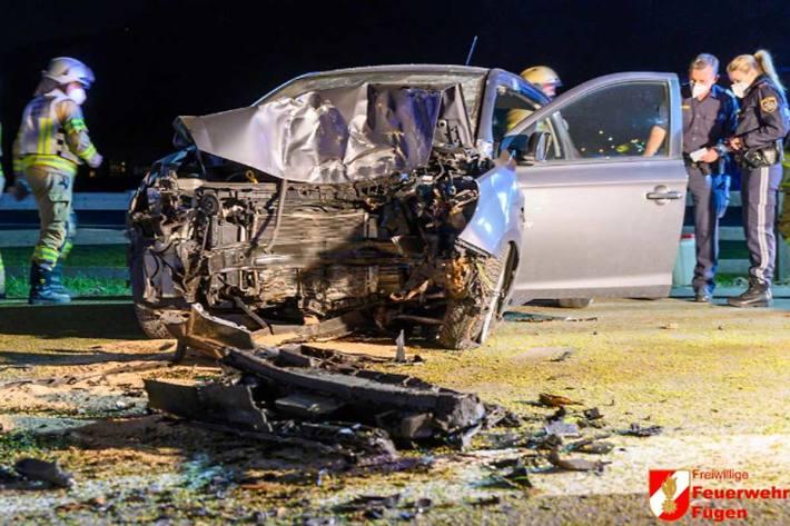 Tödlicher Verkehrsunfall in Fügen