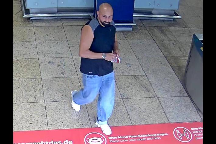 Bild des Tatverdächtigen vom Kölner Hauptbahnhof