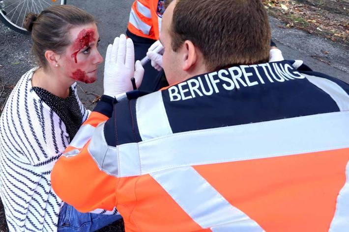 Frau krankenhausreif in Wien geschlagen (Symbolbild)