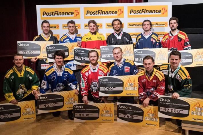 Das sind die Top Scorer der Swiss League