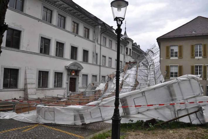 Unwetter im Kanton Solothurn