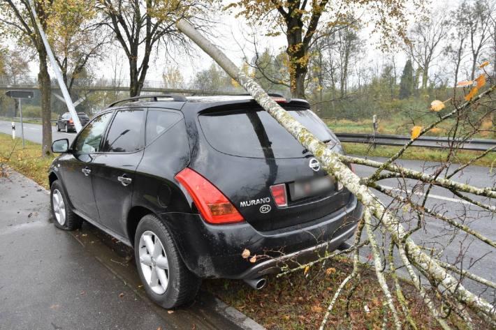 Der Autolenker verunfallte zuerst in Schaan und dann in Gamprin-Bendern FL.
