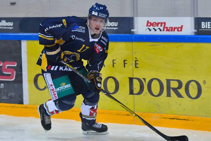 Robin Nyffeler bleibt zwei weitere Jahre beim SCL.