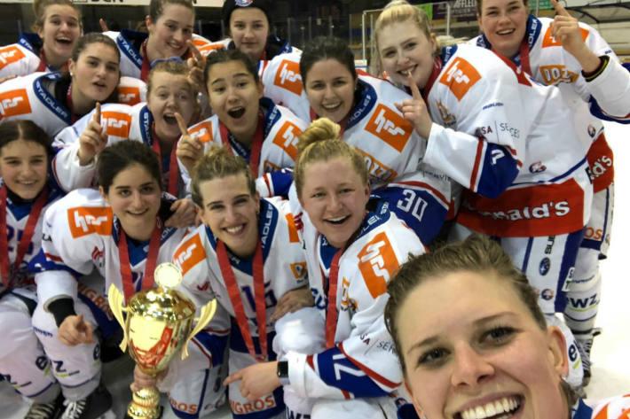 Die ZSC - Frauen verteidigen den Cuptitel.