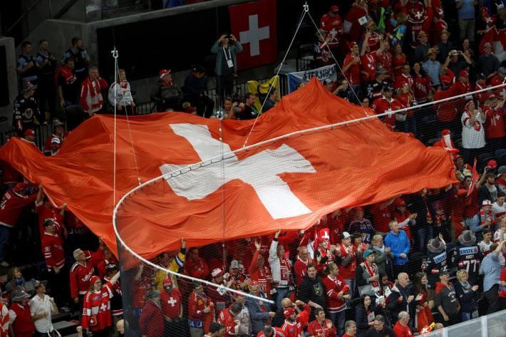 Michael Rindlisbacher, Präsident Swiss Ice Hockey Federation, nimmt Stellung in Bezug auf die WM