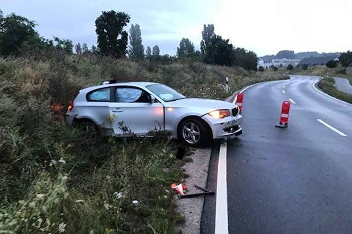 Verkehrsunfall unter Alkoholeinfluss in Ingelheim
