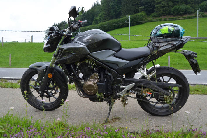 Lernfahrer mit Motorrad verunfallt bei Urnäsch