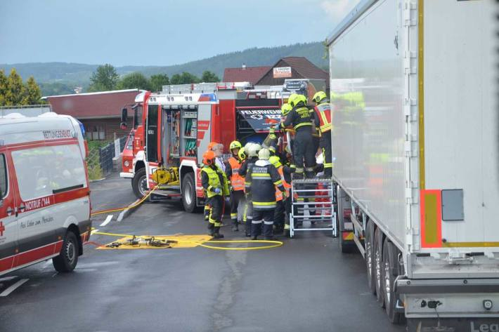 Unfall in Weitra
