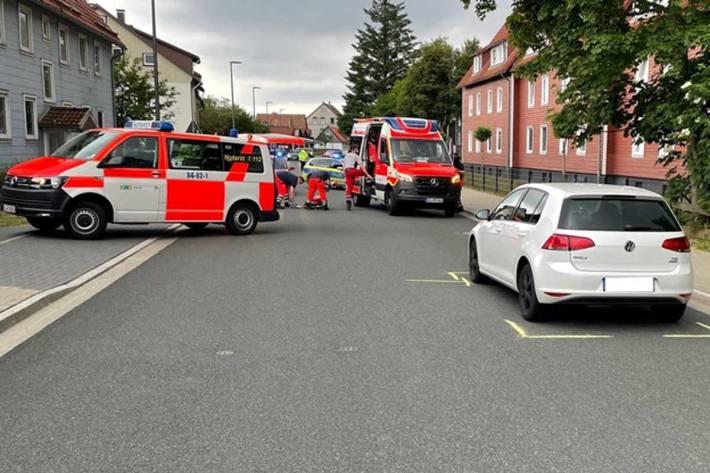 Verkehrsunfall mit schwerstverletztem Kind in Clausthal-Zellerfeld