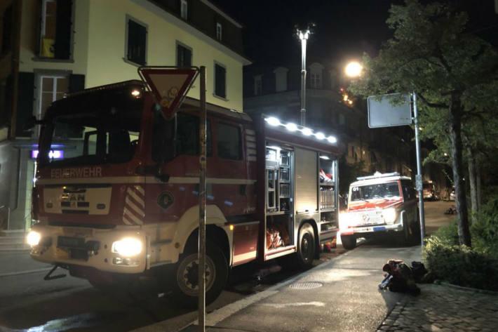 Es brannte in Bern.