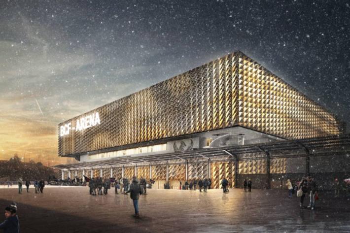 Die neue Halle von Fribourg-Gottéron.