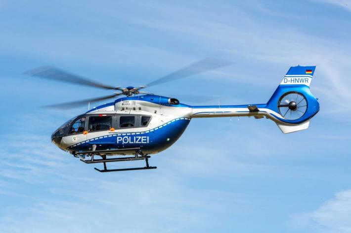 Symbolbild: Hubschraubersuche