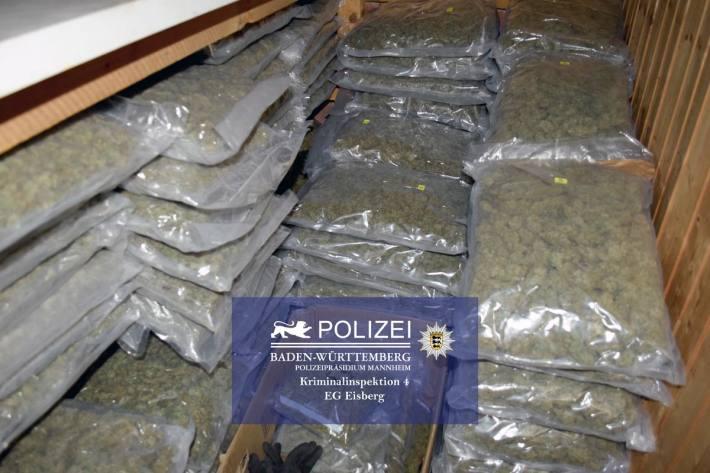 Drogenring in Weinheim zerschlagen