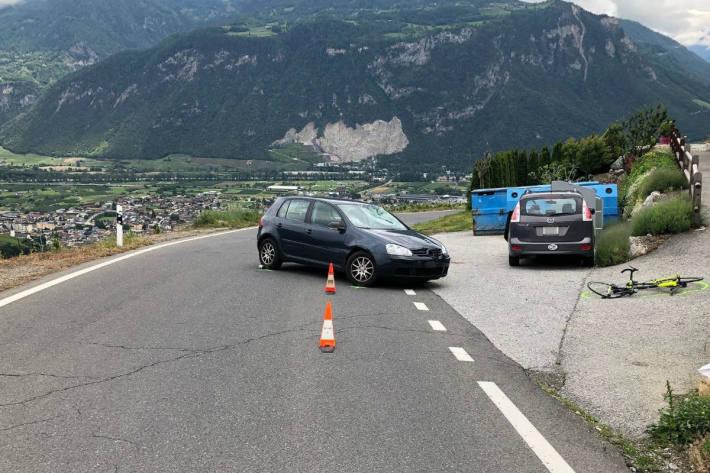 Der Velofahrer wurde schwer verletzt.