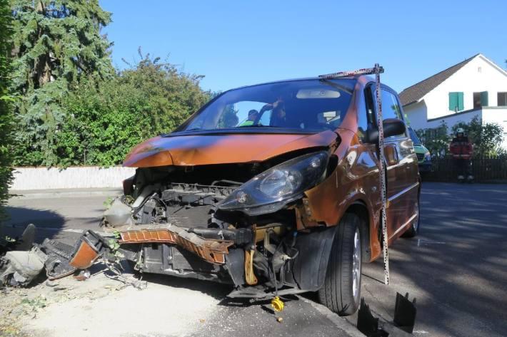 Die Autolenkerin hat gestern in Allschwil BL das Stoppsignal übersehen.