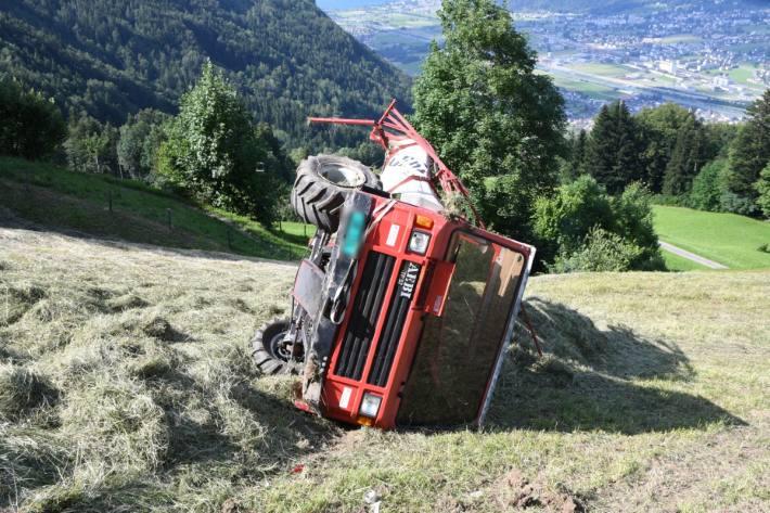 Gestern verletzte sich ein Mann in Attinghausen bei einem schweren Unfall.