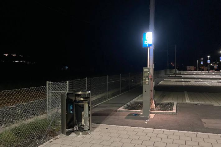 Sachbeschädigungen am Bahnhof Glarus