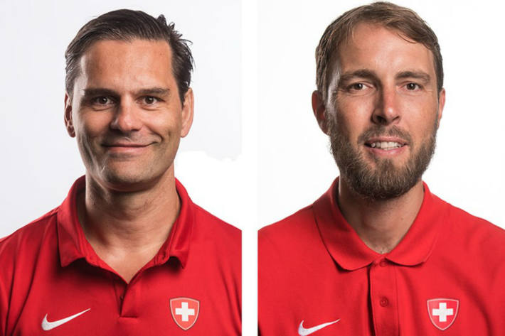 Thierry Paterlini und Martin Höhener