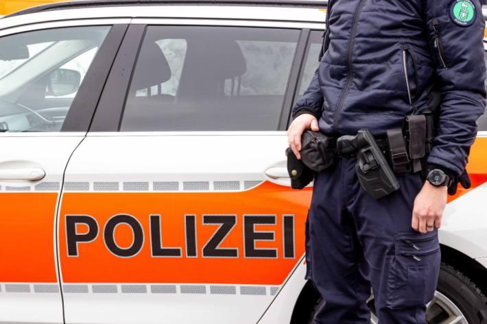 Der Motorradfahrer verletzte sich beim Unfall in Ganterschwil SG.