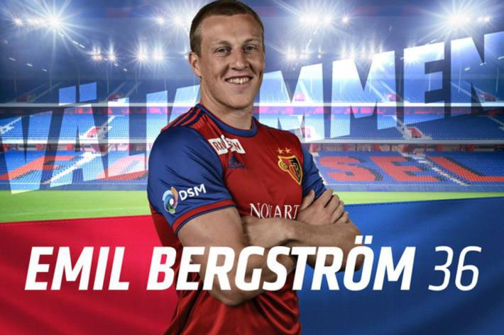 Emil Bergström kommt nach Basel.