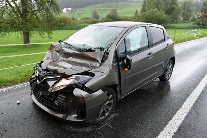 In Menznau LU fanden gestern zwei Unfälle statt.