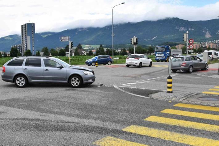 In Solothurn kam es heute zu einem Unfall.