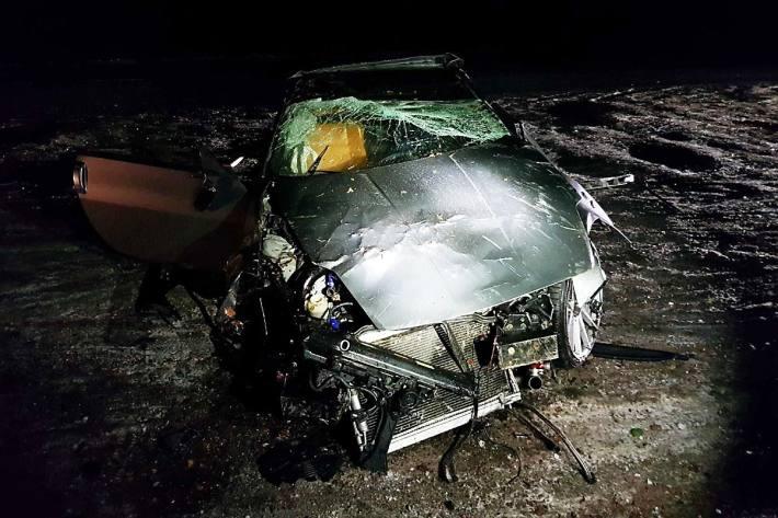 Der Fahrer wurde in Matran verletzt
