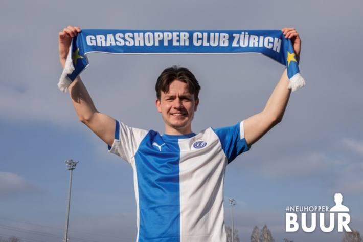 Oskar Buur neu beim GCZ
